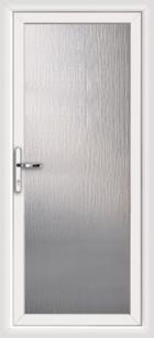 Fully glazed upvc back doors