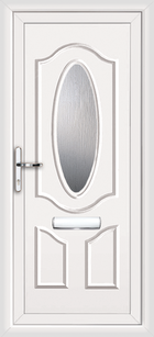 Haringley upvc front doors