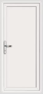Full flat upvc back doors