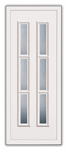 Replacement upvc door panels