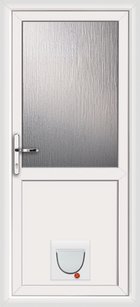 Plymouth upvc doors with catflaps