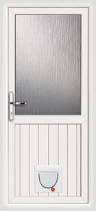 Cardiff upvc doors with catflaps