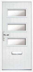 Newport composite front doors