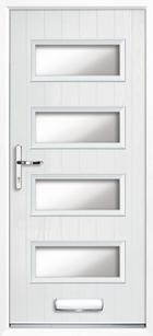 Flintshire composite front doors