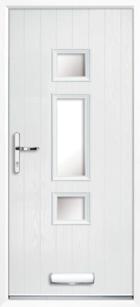 Hampton composite front doors