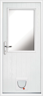 Fife composite doors with catflaps