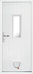 Cumbria composite doors with catflaps