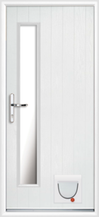 Argyll composite doors with catflaps