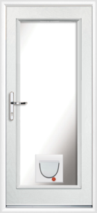 Perth composite doors with catflaps
