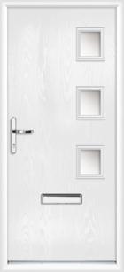Warwick composite front doors