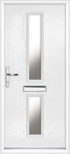 Tyne composite front doors