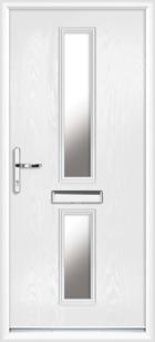 Tyne composite front doors