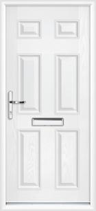 Kent composite front doors