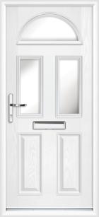 Lothian composite front doors