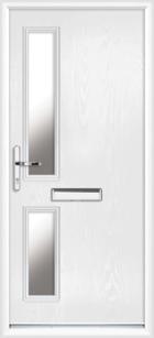 Lancashire composite front doors