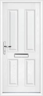 Ayrshire composite front doors