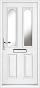 Somerset composite front doors