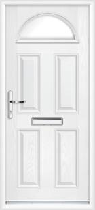 Surrey composite front doors