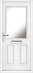 Angus composite front doors