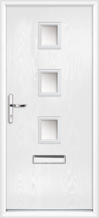 Lincoln composite front doors