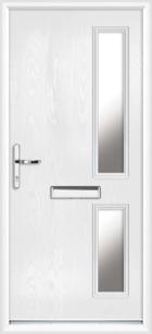 Rutland composite front doors