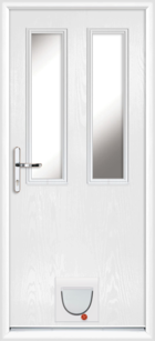 Dartford composite doors with catflaps