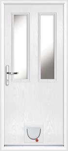 Dartford composite doors with catflaps