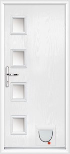 Gloucester composite doors with catflaps
