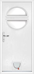 Halifax composite doors with catflaps