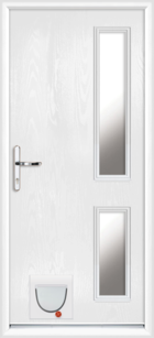 Rutland composite doors with catflaps