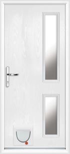 Rutland composite doors with catflaps