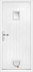 Cheshire composite doors with catflaps
