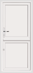 Flat panel upvc stable doors