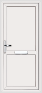 Full flat upvc front doors
