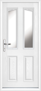 Fully fitted composite back doors for Back doors fitted