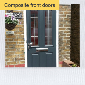 pretty nice 839e5 55924 Composite door supply & installation in Cannock. Order now!