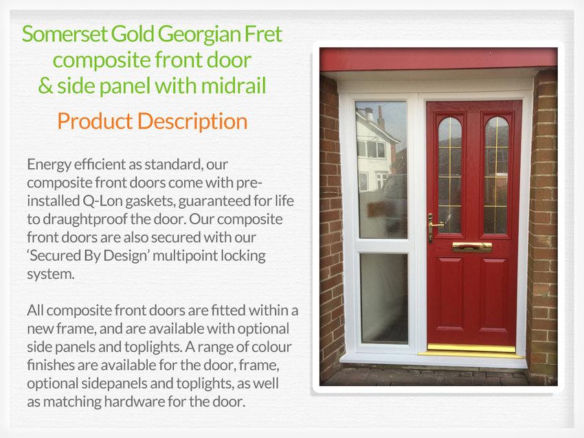 Composite front doors Rochester