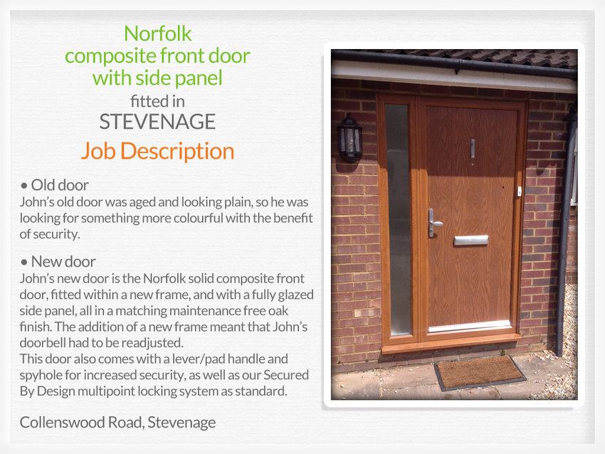 Door suppliers and installers in stevenage for Front door manufacturers
