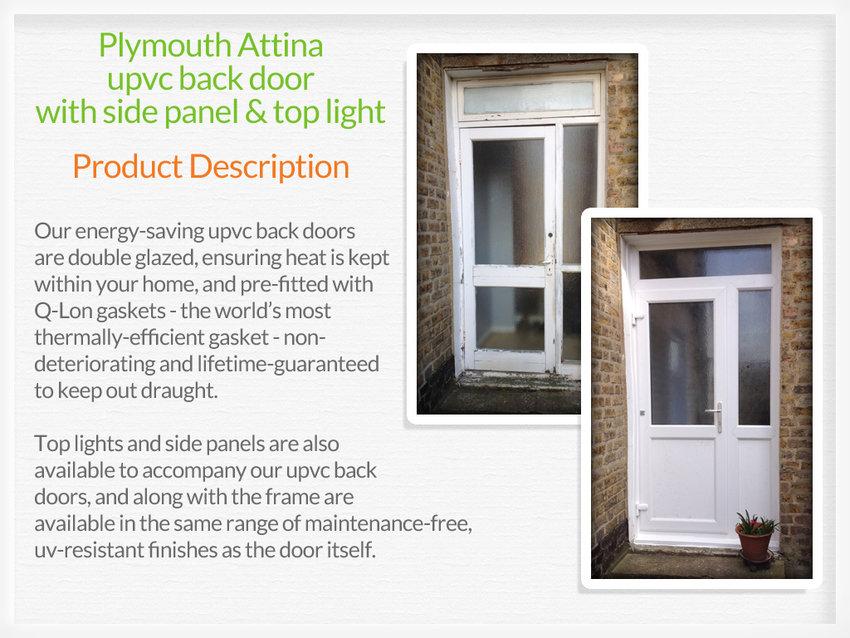 ... Pvc back door fitter in Falkirk ... & Upvc back doors Falkirk