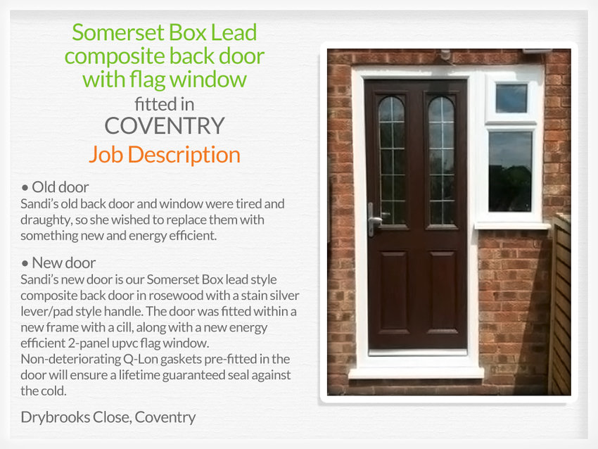 Door suppliers and fitters in Coventry