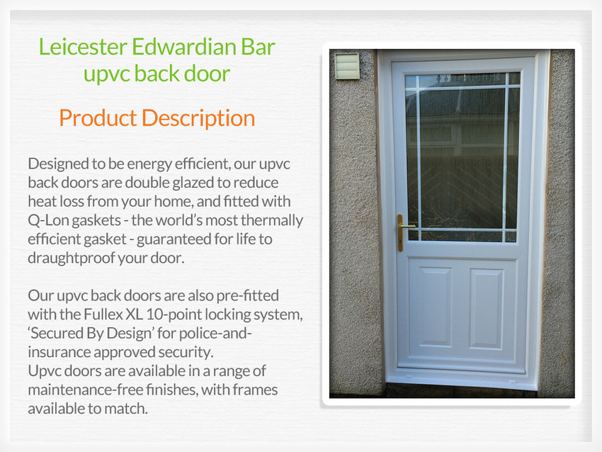 Upvc back doors barnstaple for Upvc back doors fitted