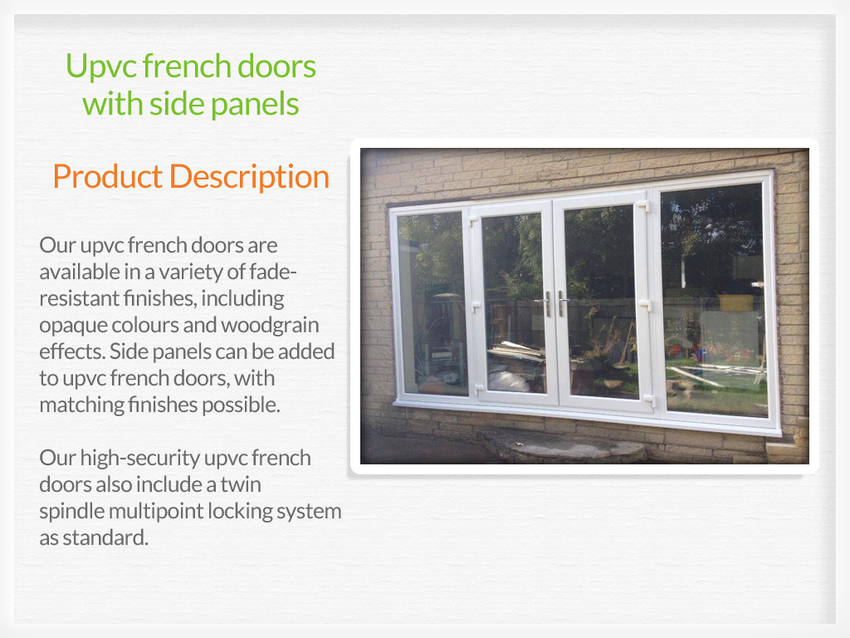 Upvc french doors sale for French doors for sale uk