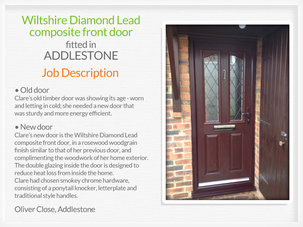 Door suppliers and fitters in Addlestone