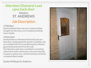 Door suppliers and installers in St. Andrews