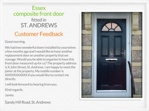 Door suppliers and fitters in St. Andrews