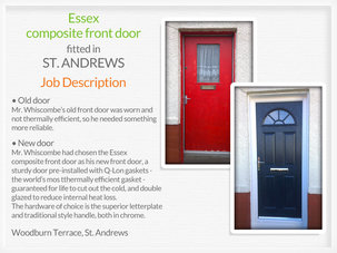 Door supplier and fitter in St. Andrews