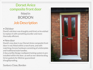 Door suppliers and fitters in Bordon