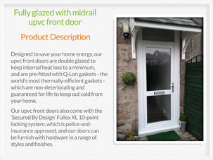 Upvc front doors Newton Mearns