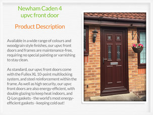Upvc front door installer in Newton Mearns