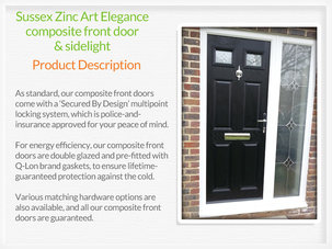 Composite front door fitters in Tyldesley